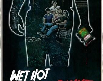 Wet Hot American Summer 11x17 Poster Print