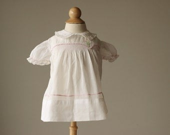 1940s Mitzi Spring Dress~Size 3 Months