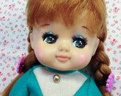 Vintage Japan Oike Co Sun Chan Doll Loose in Original Fashion