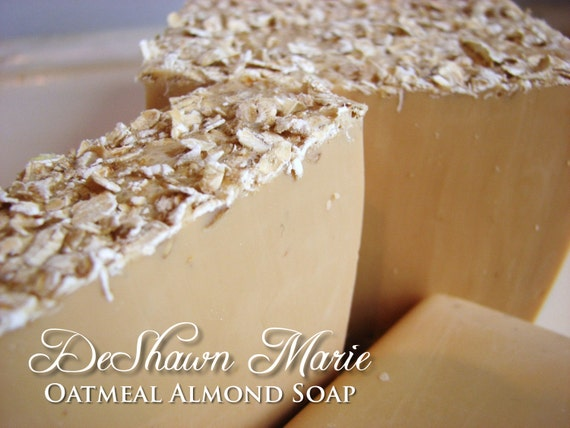 SALE SOAP- Oatmeal Almond Soap - Handmade Soap - Fresh Soap- Soap Gift - Mother's Day Gift - Birthday Gift - Christmas Gift - Father's Day G