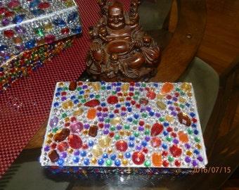 Jeweled pencil box