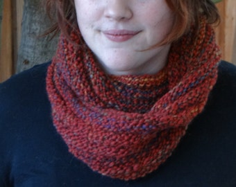 Hand-Knitted Infinity Scarf