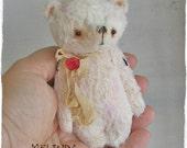 Melinda Bear by Woollybuttbears 4 inches
