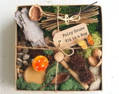 Fairy Garden Kit, Fairy House Kit DIY Gnome Home Natural Nature All Natural Eco Friendly Gift