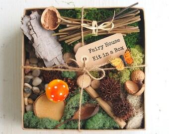 Fairy Garden Kit - Fairy Garden Accessories - Fairy Garden Supply - Fairy Garden Decor - DIY Fairy House - furniture, items - DELUXE SET