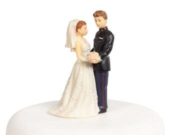 Vintage Military Marine Cake Topper Figurine - 70806