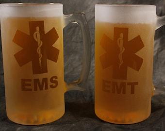 Emergency Medical Services Technician EMT EMS 26 oz mug