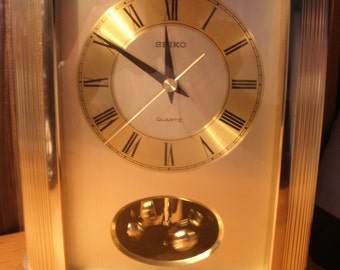 Vintage Seiko Anniversary Clock