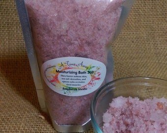 Raspberry Vanilla - ULTRA Moisturizing Bath Salts - 7 oz