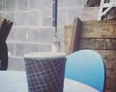 Upcycled Umbrella Ice Cream Pint Cosy