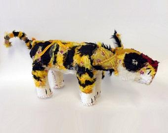 hariko tiger textile animal