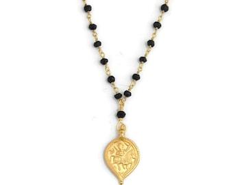 Mangalsutra Necklace | Sun God Surya Necklace | Nurture Protection | Yoga Inspired Jewelry |Yoga Necklace | Boho Jewelry | Bohemein Jewelry