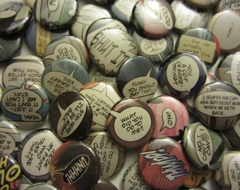 Comic Book Quotes: Doctors (Pinbacks or Magnets)