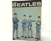 Vintage 1964 Life With The Beatles Booklet with Full-Color Inside Spread, PYX Productions - Hard to Find Beatles Collectible, Ex. Condition