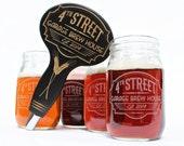 Custom Beer Tap Handle Fits your standard Kegerator Beer Tap Faucet, Mason Jars / Pint Glasses,Craft Beer,Home Brew,Home Brewing, Christmas