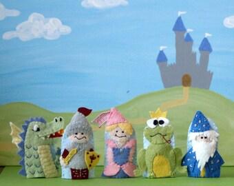 Fairy Tale Finger Puppet Set