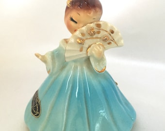 Vintage Josef Originals California Secret Pal figurine