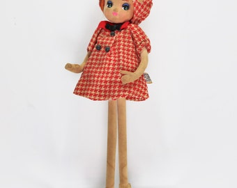 1960's Dakin Dream Doll // Vintage Pose Doll // Big Eyed Doll// Cloth Doll // Tagged