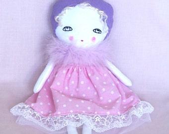 Nursery Decor Girls - Baby Shower - Soft Doll for Kids - Gift for Her - Gift for Girls