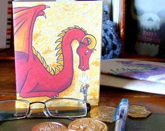 Smaug Pocket Notebook - Bilbo Baggins - The Hobbit - Dragon Hoard