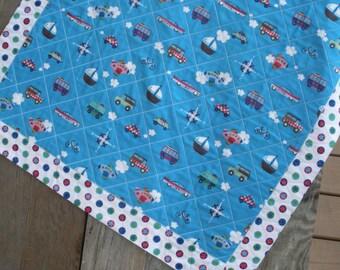 Boy's baby quilt