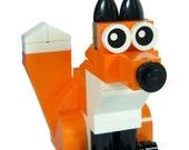 Fox Building Kit by Abbie Dabbles