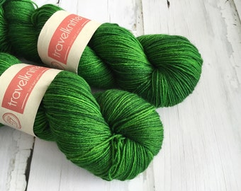 BFL Supersock British Bluefaced Leicester / Nylon sock yarn - Jazz Age