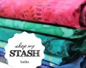 Shop my Stash - Batik Prints, S M L X
