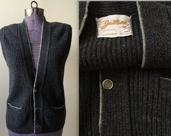 Vintage 1960s Jantzen Sweater Vest - Medium