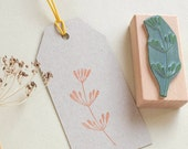 Rubber Stamp for the kitchen   Dill twig   Dill Stamp   Kitchen Stamp   Herb Stamp   Dill plant   Botanical Stamp   Homemade Stamp
