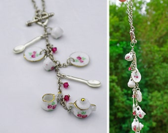 Rose Flower China Car Charm for Rear View Mirror