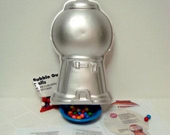 Gumball Machine Cake Pan Wilton 2105 2858 Candy Dispenser or Robot Party Cake