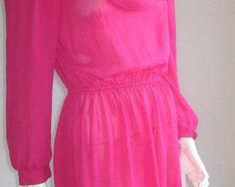 70s vintage california  dress