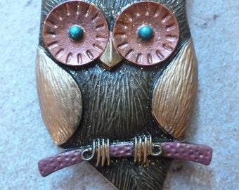 Large Owl Magnet