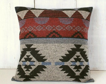 Southwestern Pillow Covers 24 X 24 : Aztec pillow Etsy