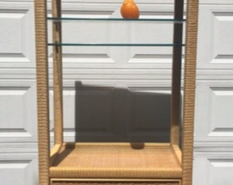 Vintage Milo Baughman Shelving Unit Etagere Chrome Lay A Way
