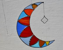Stained Glass Moon  Hot and Cold