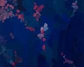 Call It Magic - Original Artwork (31x41 cm - app. 12x16 in) in deep blues and sparkly magentas