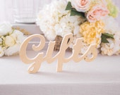 Gifts Table Sign for Wedding Table or CardTable Decor, Wedding or Party Decor Sign (Item - TGF100)