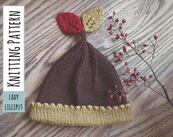 PATTERN - The Little King Baby Beanie