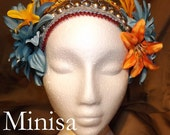 Tribal Fusion ATS Belly Dance Headpiece, Minisa