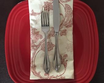 Large cloth napkins, cloth napkins, napkins, reusable napkins, eco friendly napkins,cloth napkin set, handmade cloth napkins