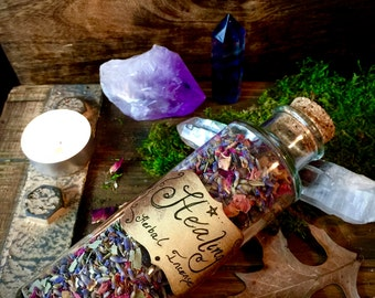 Herbal Healing Incense- Love, Heal, Protect