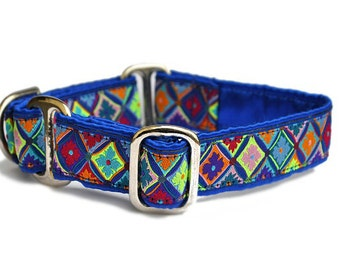 Fiesta Jacquard Martingale Collar - 1 Inch