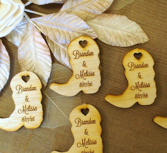 Western Wedding Favors