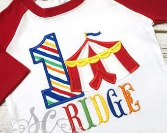 Carnival Birthday Shirt - Circus Birthday - Boy Birthday Shirt - First Birthday Shirt - Toddler Birthday Shirt - Carnival Birthday Party