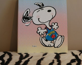 Vintage Snoopy Hallmark Photo Album Mint Condition - The Peanuts Gang - Schulz - Collectible - Scrapbook