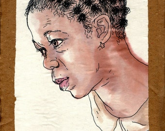 original illustration - face 2