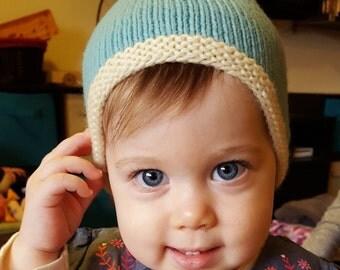 1-2-3-4-5 Baby Beanie | pdf knitting pattern | fits newborns thru toddlers