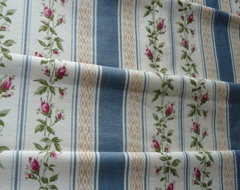 FABULOUS FRENCH FLORALS french vintage fabric bed cover